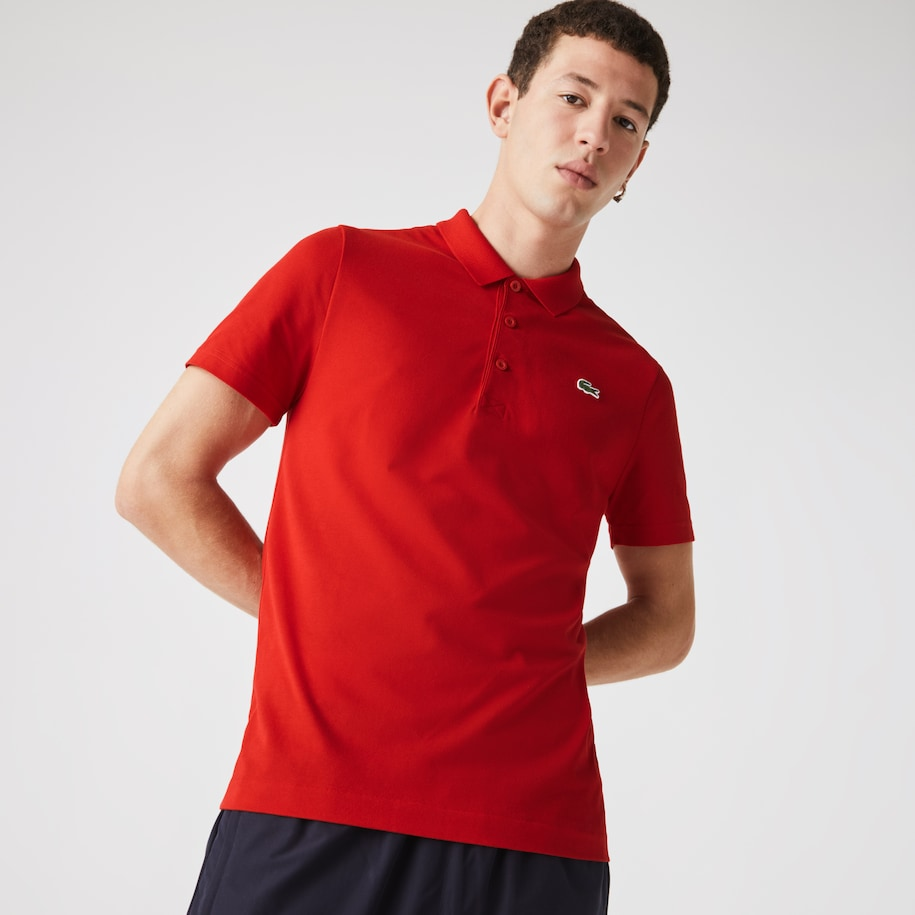 Men's Lacoste SPORT Cotton Blend Ottoman Polo Shirt