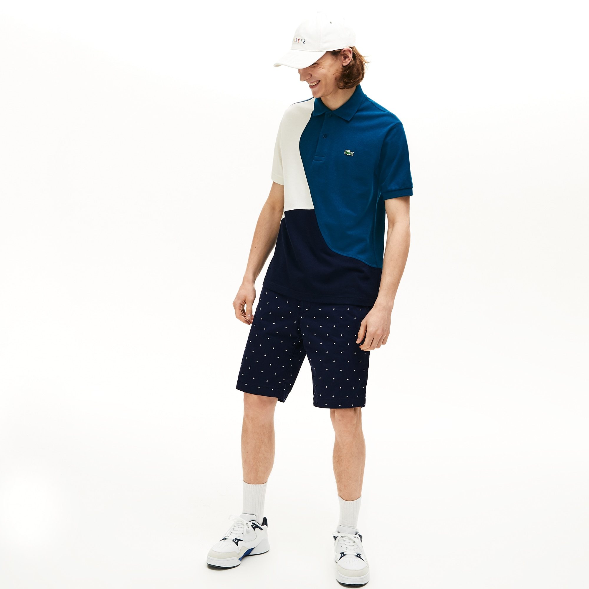 Men's Lacoste L.12.12 Colourblock Thermoregulating Piqué Polo Shirt