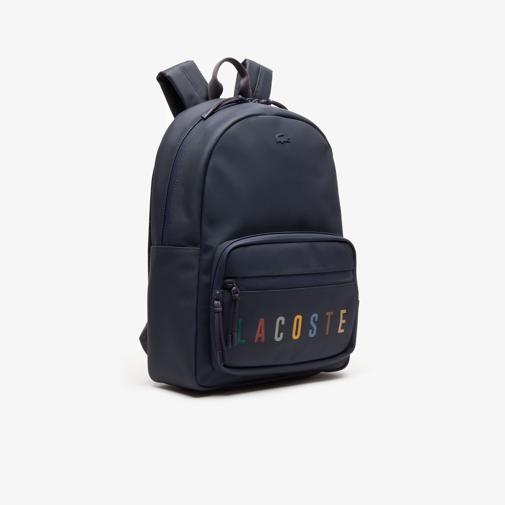 Men's L.12.12 Concept Signature Coated Canvas Backpack