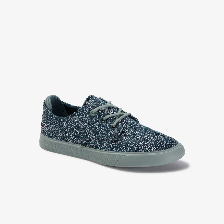 Children's Esparre Lace-up Textile and Synthetic Sneakers