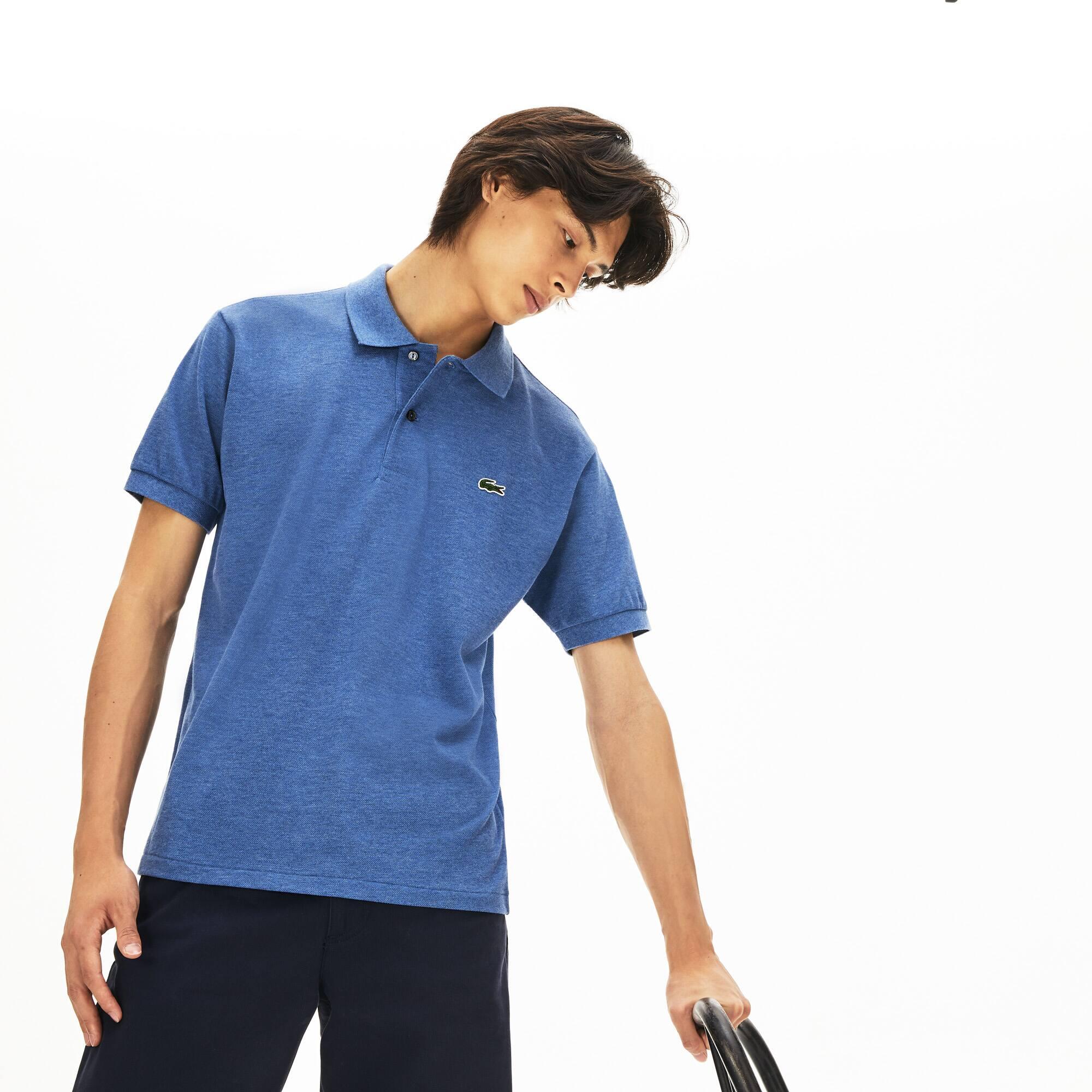 Lacoste Men/'s New L.12.12 Short Sleeve Cotton Pique Polo Shirt Green