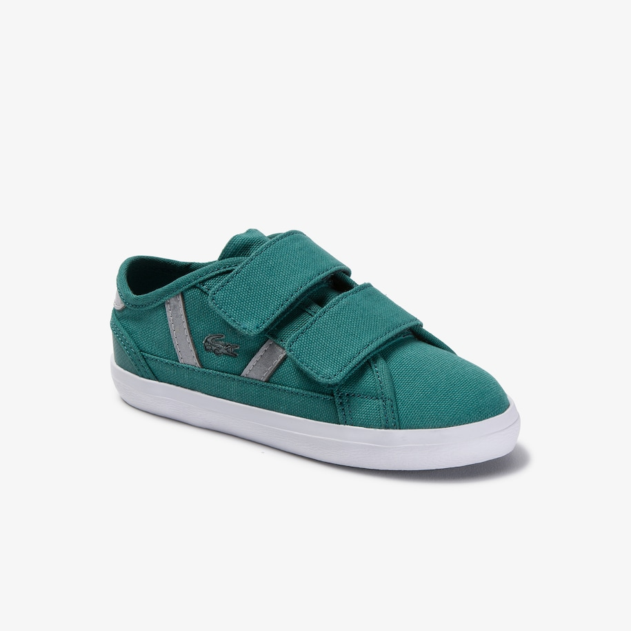 Infants' Sideline Lace-up Canvas and Synthetic Sneakers