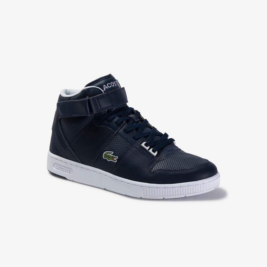 Men's Tramline Mid Synthetic and Leather Sneakers