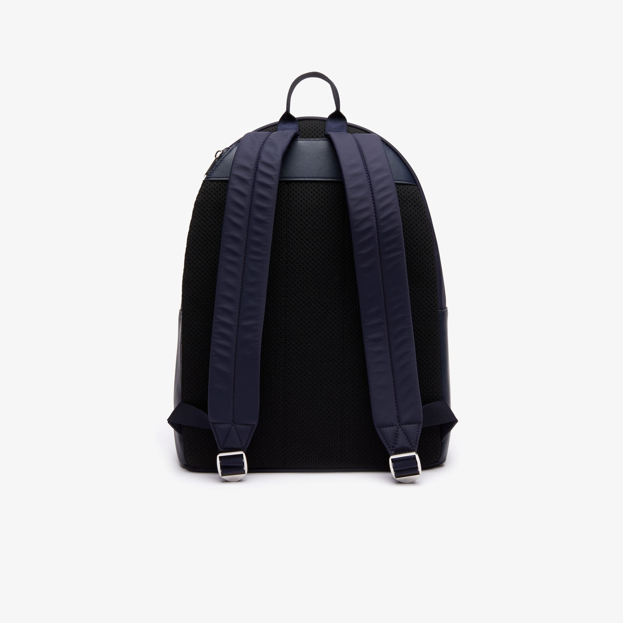 Men's L.12.12 Signature Leather Zip Backpack