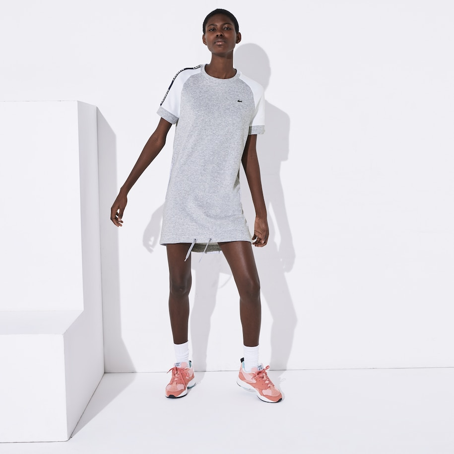 Women's Lacoste SPORT Colourblock Fleece Tennis Dress